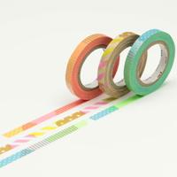 3色のマスキングテープ